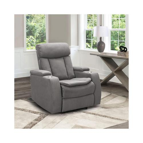 Cosmo Power Theater Chair - Grey