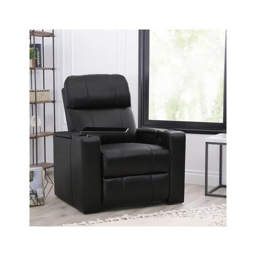 Rider Power Faux Leather Recliner