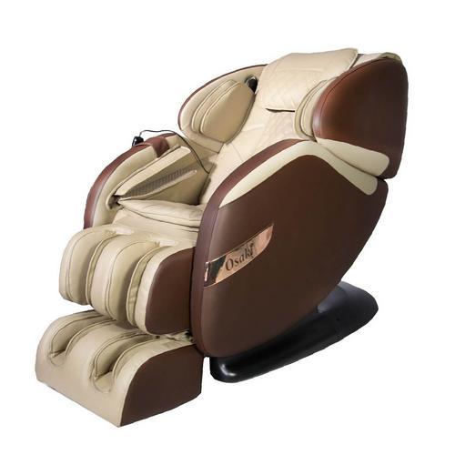 Champ Massage Chair - Beige/Brown