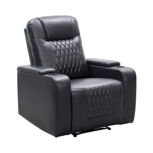 Trinity Manual Theater Chair - Black