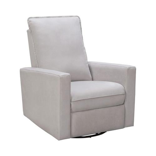 Reagan Swivel Glider Recliner - Lt Gray