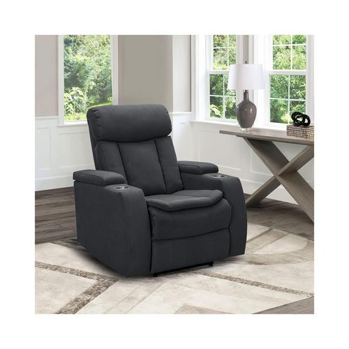 Cosmo Power Theater Chair - Charcoal