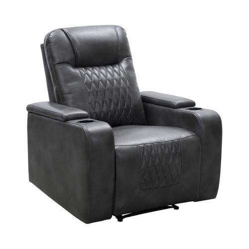Trinity Manual Theater Chair - Grey