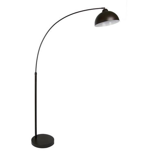 """68.5"""" Oiled Bronze Arc Floor Lamp"""