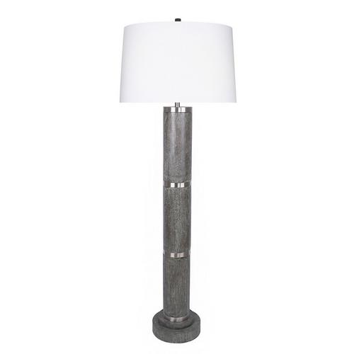 "66"" Acid Griffin Wood Floor Lamp"
