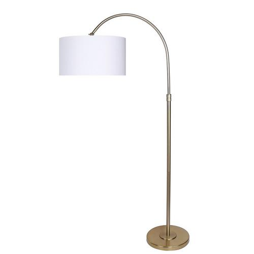 """63.5"""" Modern Gold Plated Lamp"""