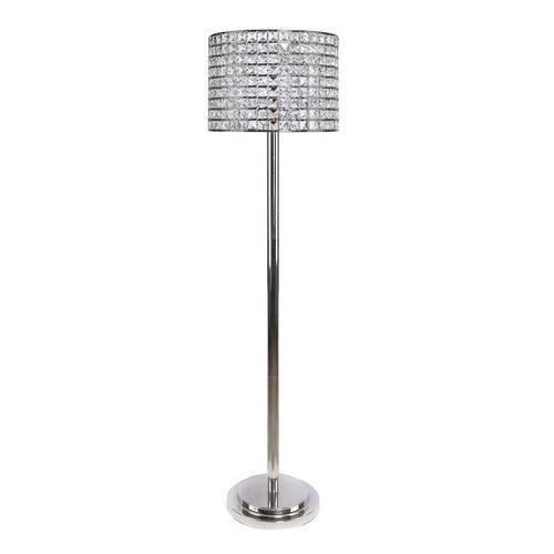 nickel floor lamp