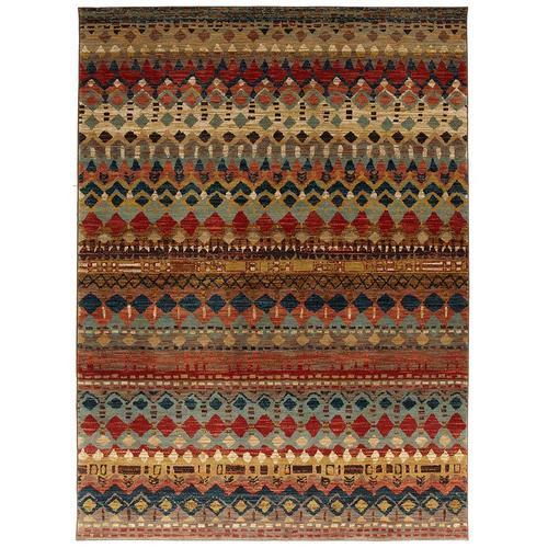 9'x12' Saigon Multi Polyester Rug