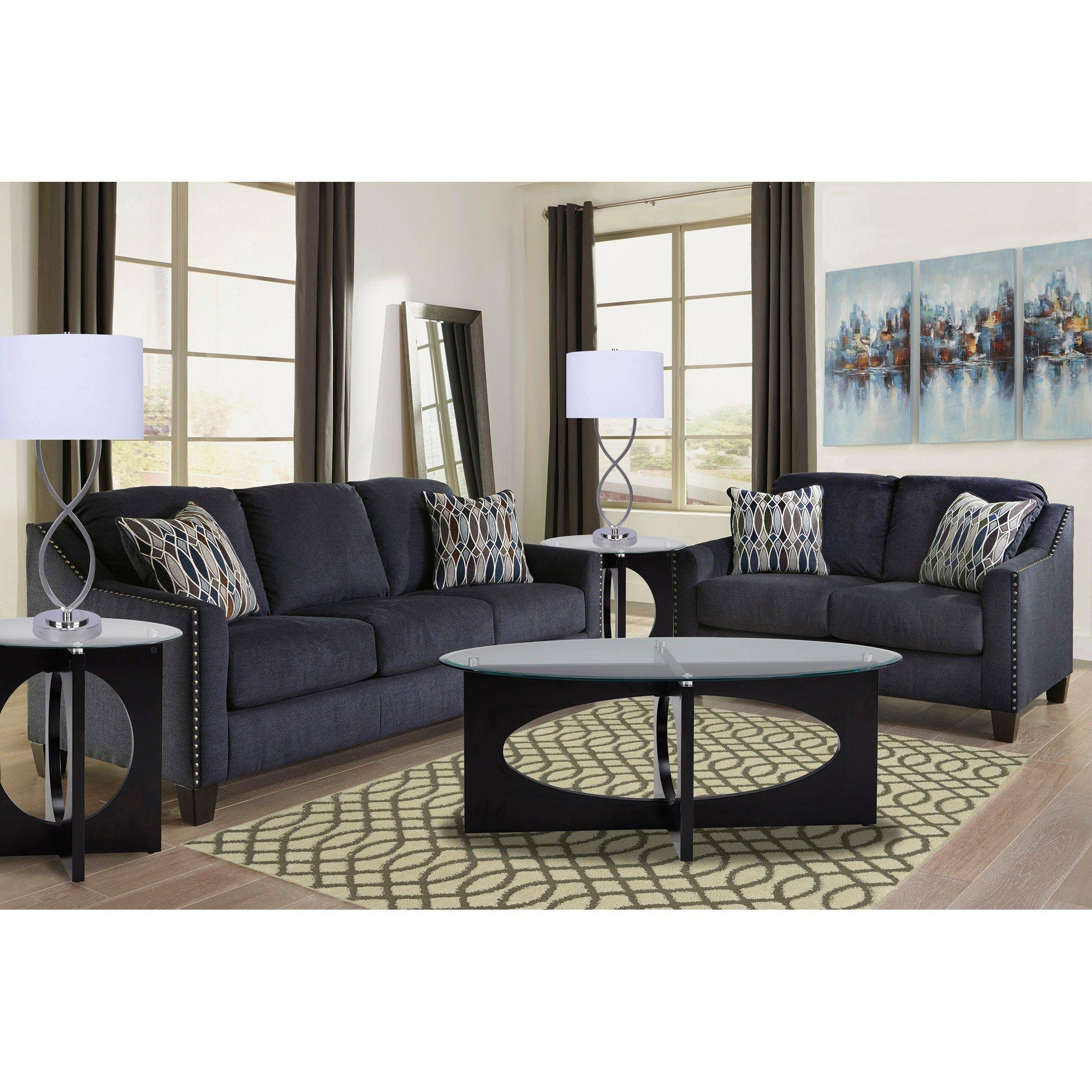 Rent To Own Ashley 7 Piece Creeal Heights Living Room Collection At Aaron S Today