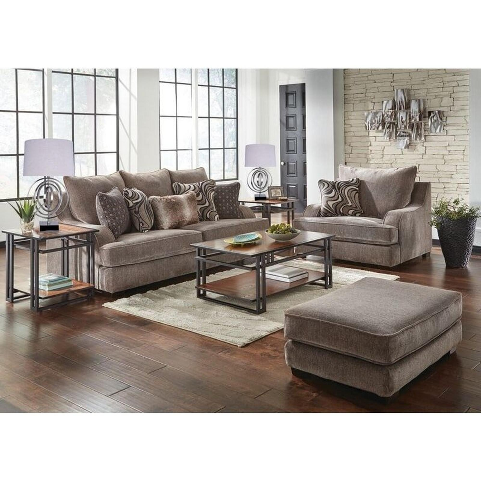 3 Piece Phantom Living Room Collection, Aarons Living Room Sets