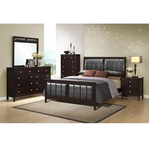 11-Piece Lawrence Queen Bedroom w/ Beautyrest Tight Top Hybrid Plush Mattress