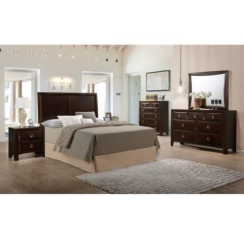 6-Piece Franklin Queen Bedroom w/ 2 Nightstands