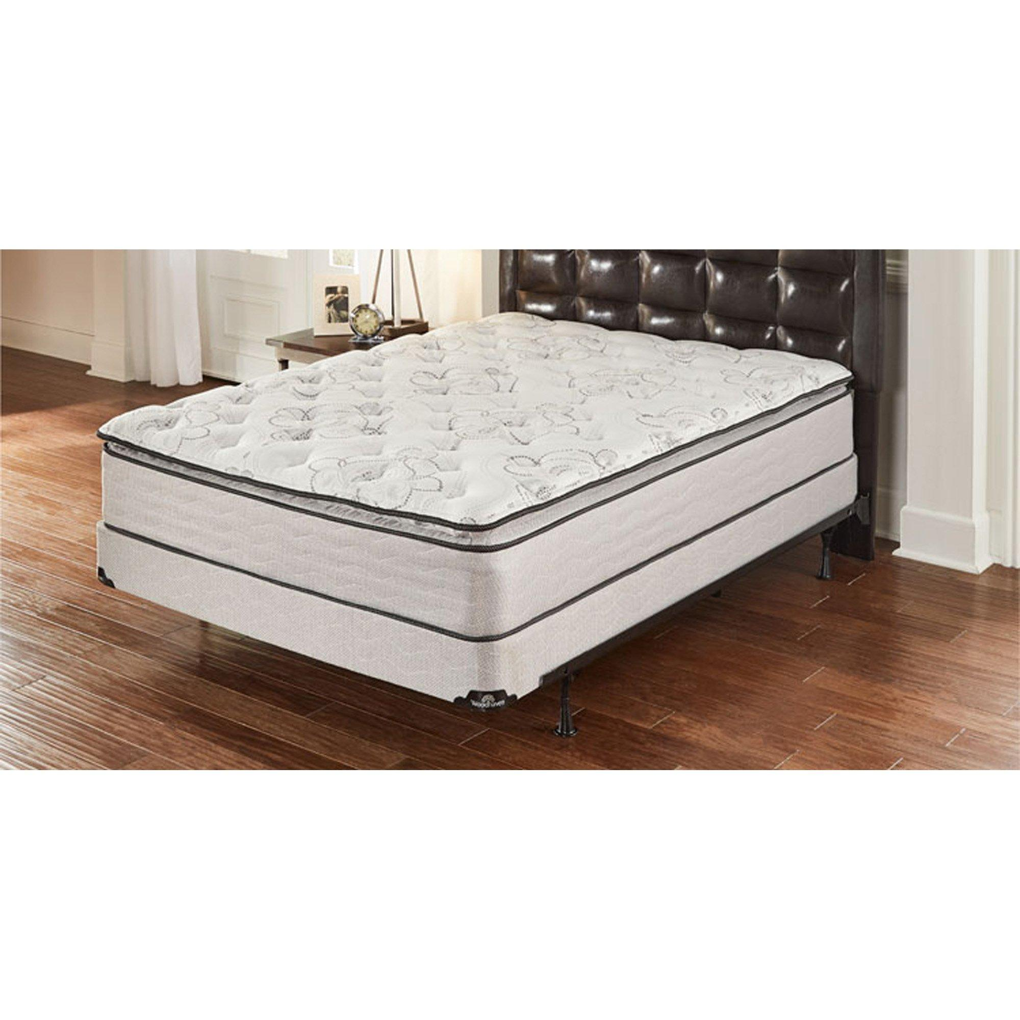 Rent To Own Woodhaven Pillowtop Plush King Mattress With 9 Foundation And Protectors At Aaron S Today