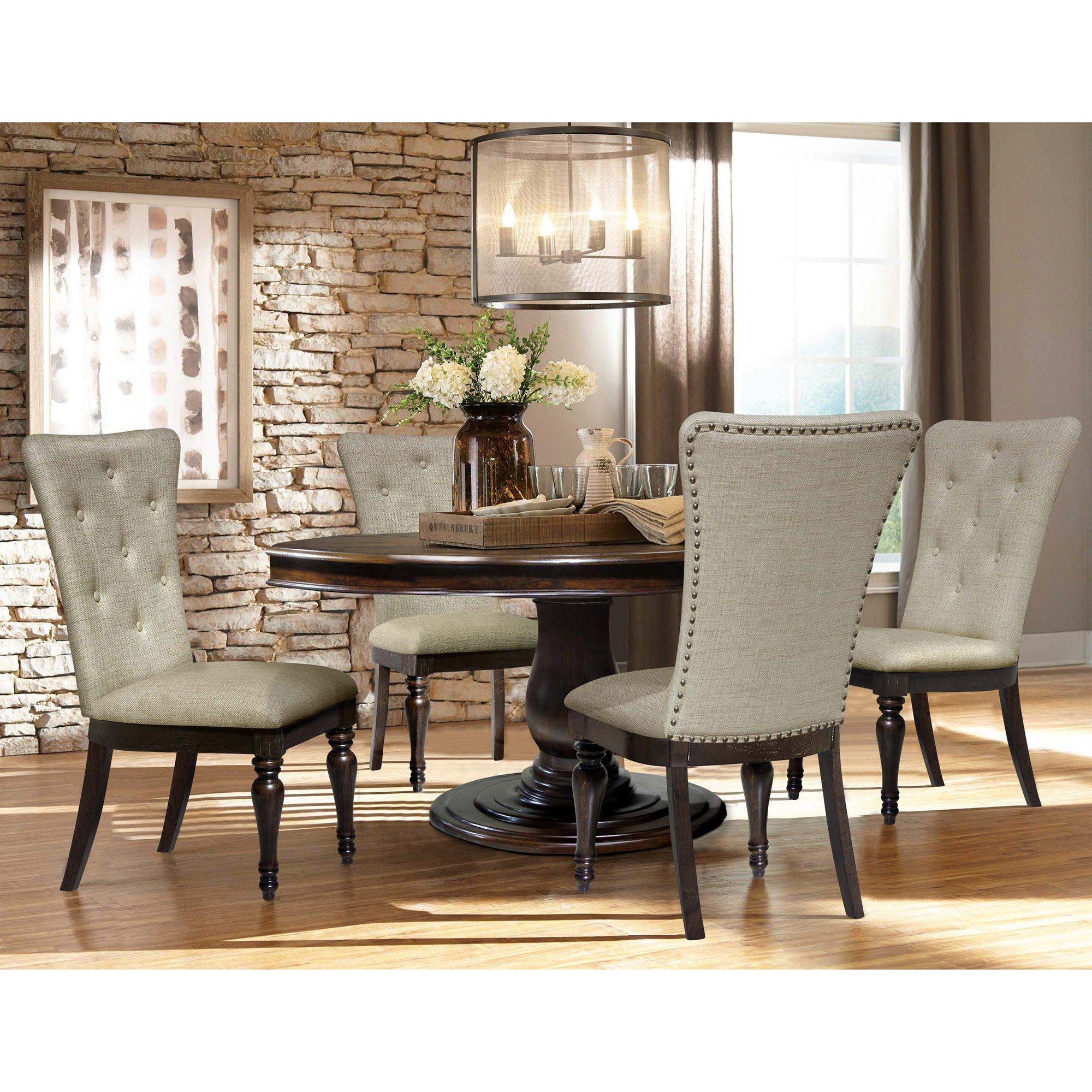 5 Piece Belmont Dining Room Collection, Aarons Dining Room Sets