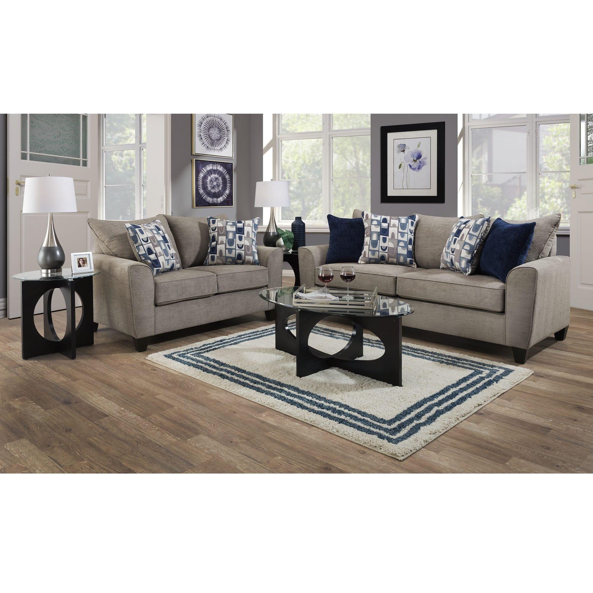 2 Piece Eden Sofa Loveseat, Aarons Living Room Sets