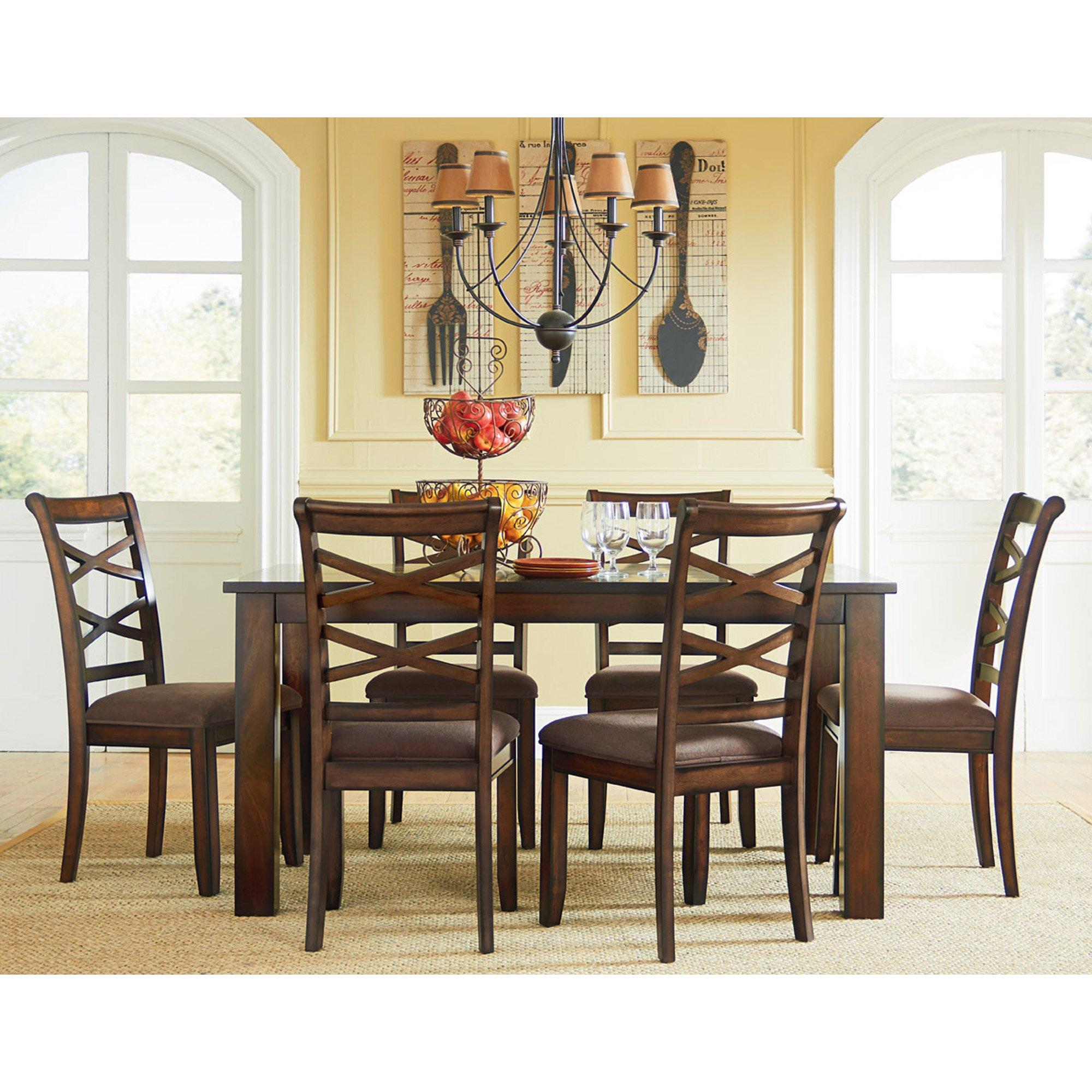 7 Piece Redondo Dining Room Collection, Aarons Dining Room Sets