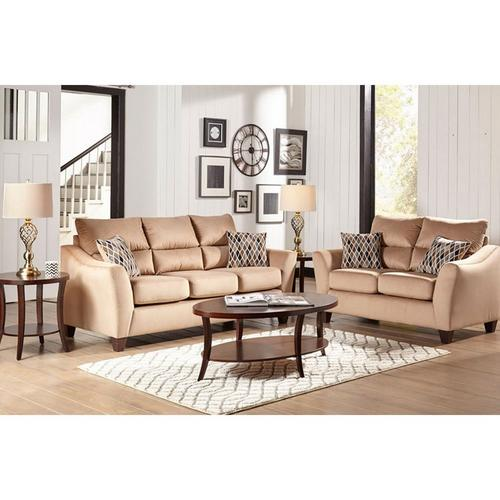 Rent To Own Woodhaven 7 Piece Camden Living Room Collection At Aaron S Today