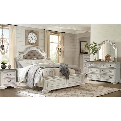 11-Piece Madison Queen Bedroom w/ Beautyrest Tight Top Hybrid Plush Mattress