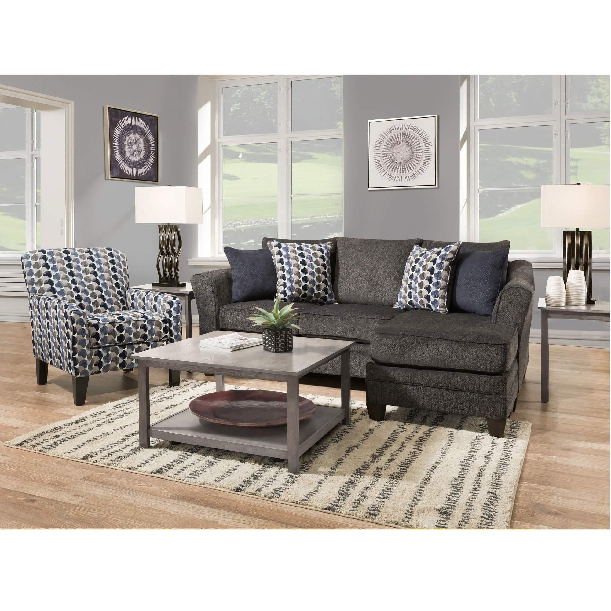 2 Piece Bubbles Living Room Collection, Aarons Living Room Sets