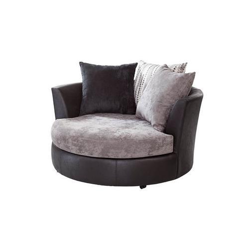 Jamal Swivel Barrel Chair