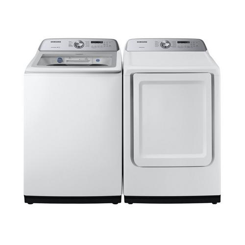 Rent To Own Samsung Appliances 5 0 Cu Ft Energy Star Top Load Washer 7 4 Cu Ft Electric Dryer At Aaron S Today