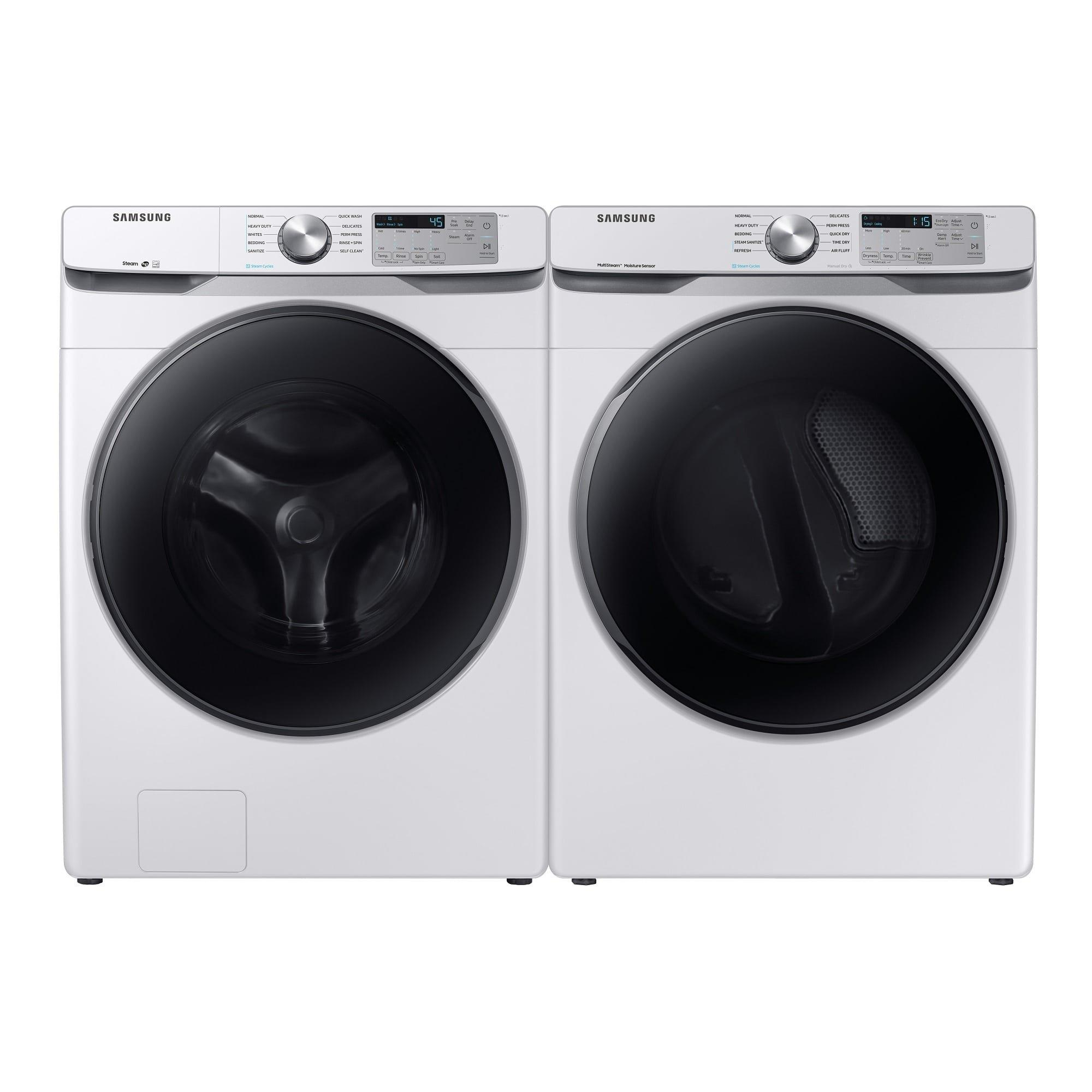 Rent To Own Samsung Appliances 4 5 Cu Ft Energy Star Front Load Steam Washer 7 5 Cu Ft Gas Steam Dryer At Aaron S Today
