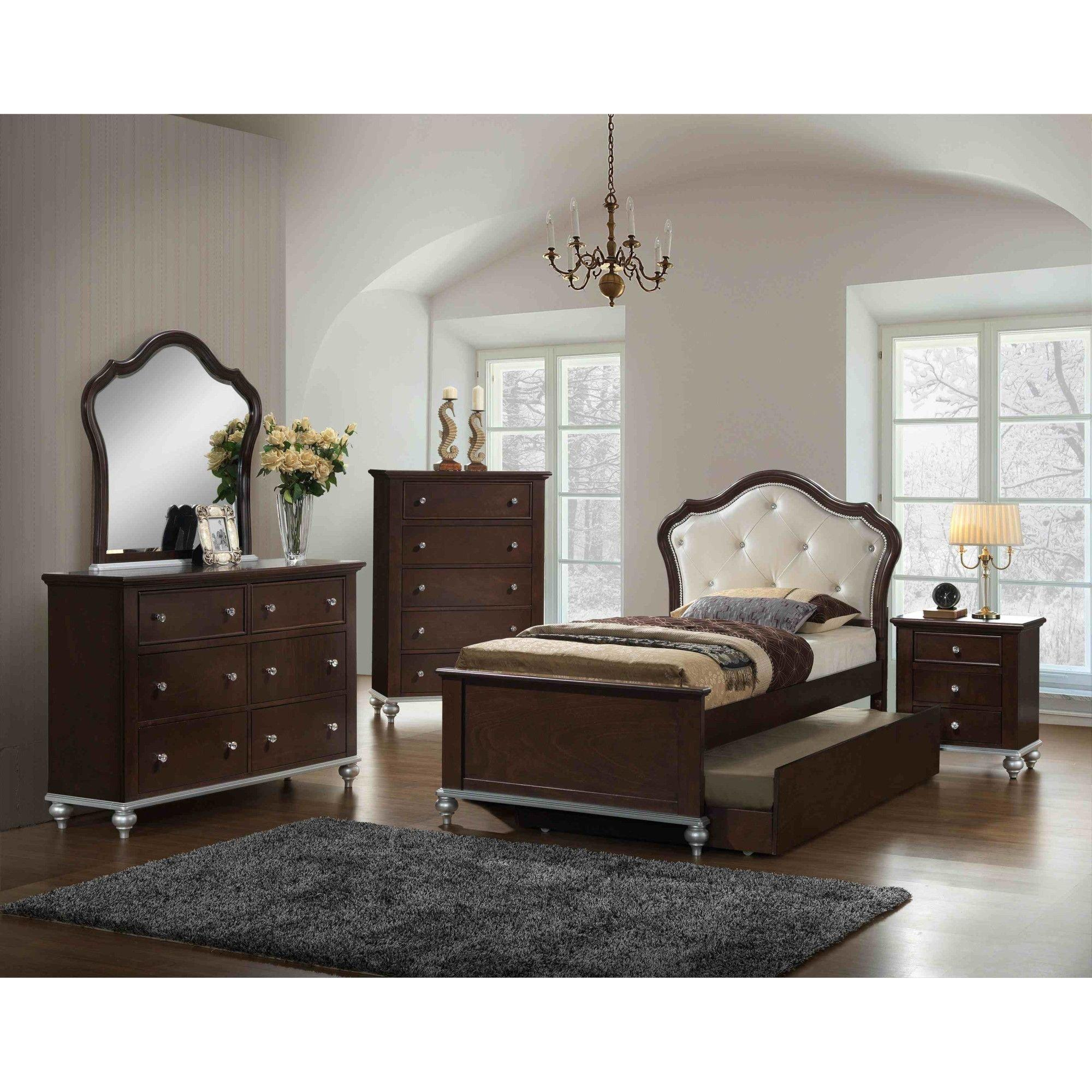 Rent To Own Elements International 5 Piece Allison Twin Panel Bedroom Set At Aaron S Today