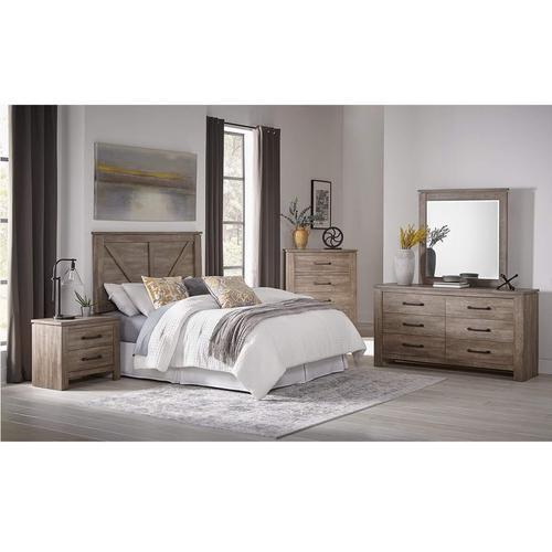 Woodhaven Pillow Top Plush Mattress At, Queen Bedroom Set With Mattress