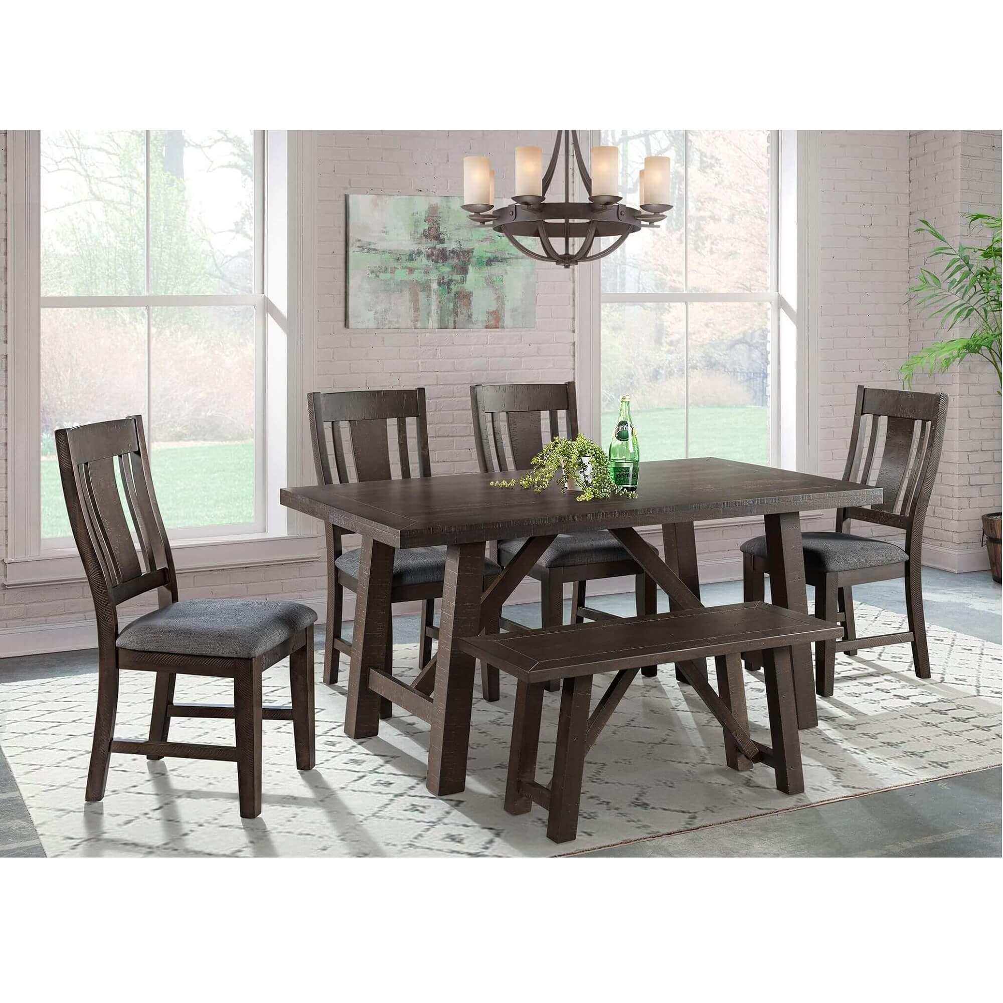 6 Piece Cash Dining Room Collection, Aarons Dining Room Sets