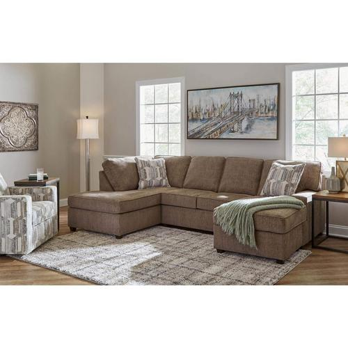 3-Piece Casey Sectional Chaise Sofa with Swivel Chair
