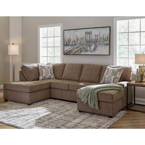 2-Piece Casey Sectional Chaise Sofa