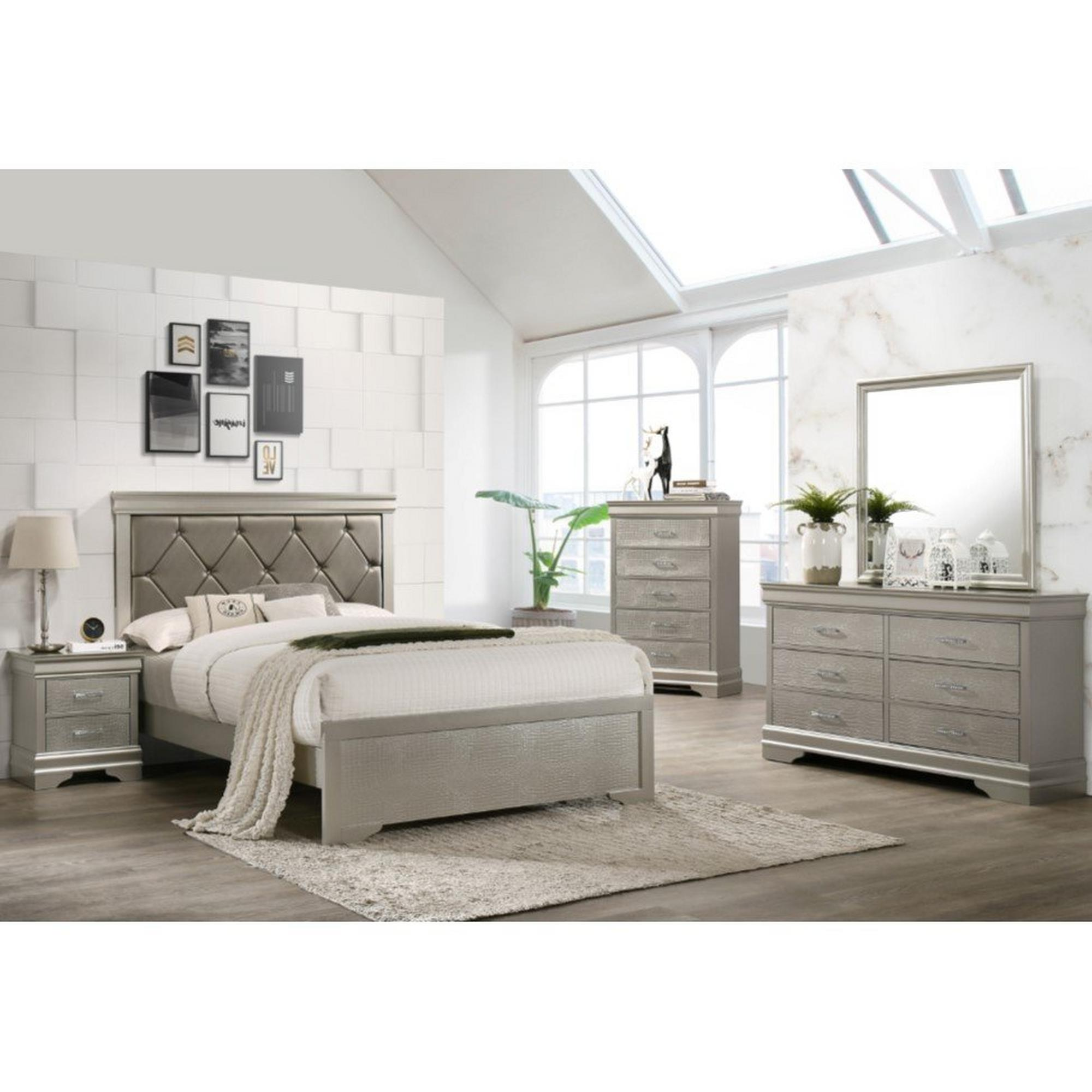 rent to own crown mark inc 7piece amalia full bedroom at