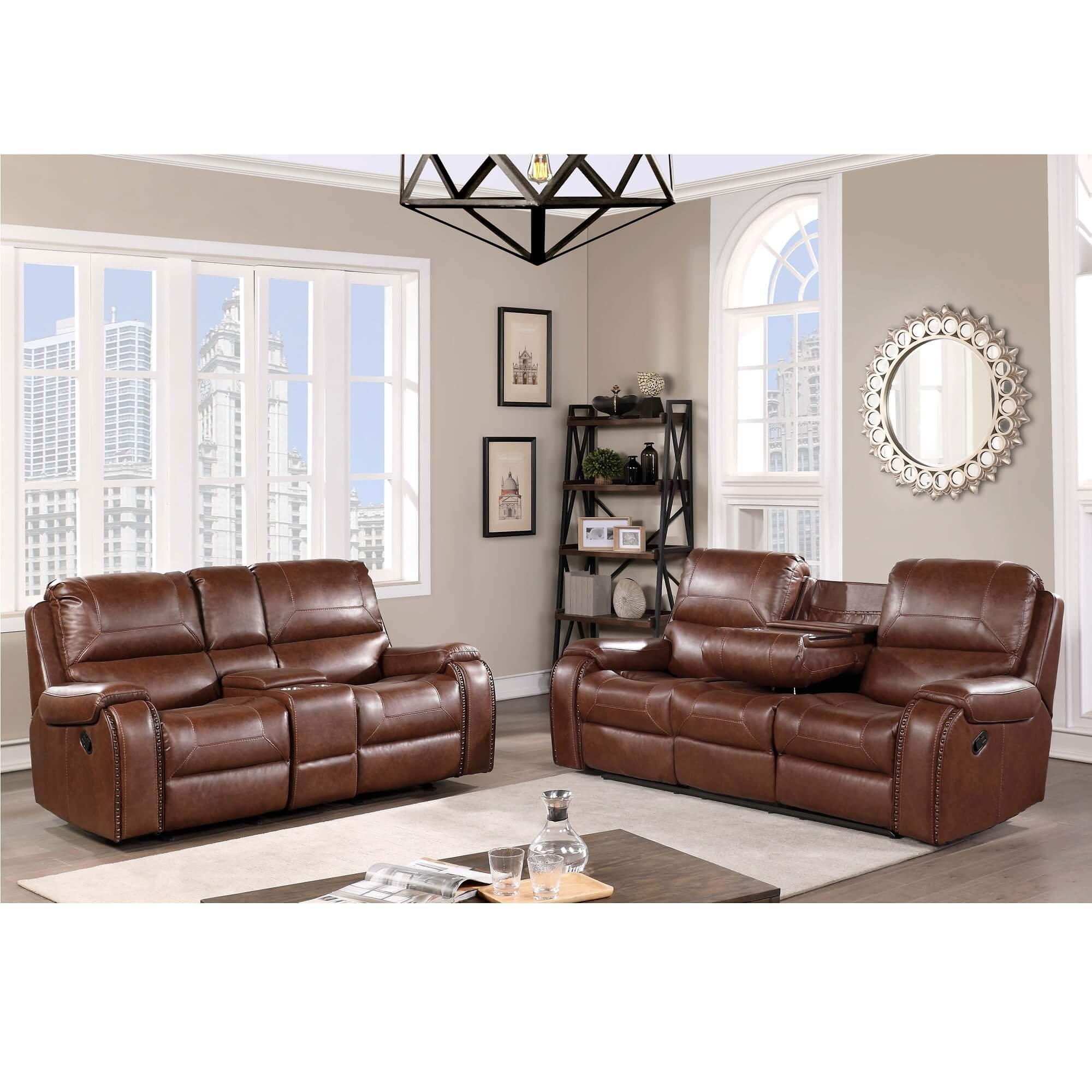 Leather Recliner Sofa Deals