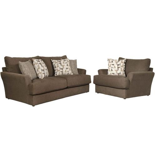 2-Piece Dolly Sofa and Oversized Chair