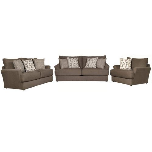 3-Piece Dolly Sofa, Loveseat and Oversized Chair