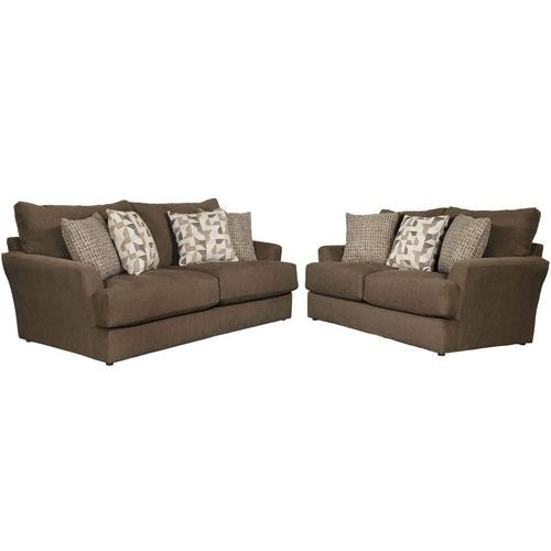 2-Piece Dolly Sofa and Loveseat