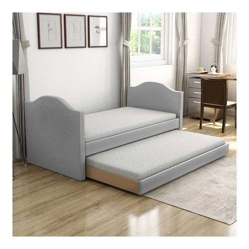 Bellflower Twin Daybed w/Trundle - Grey