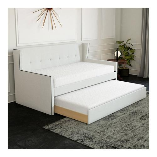 Camelia Twin Daybed w/Trundle - White