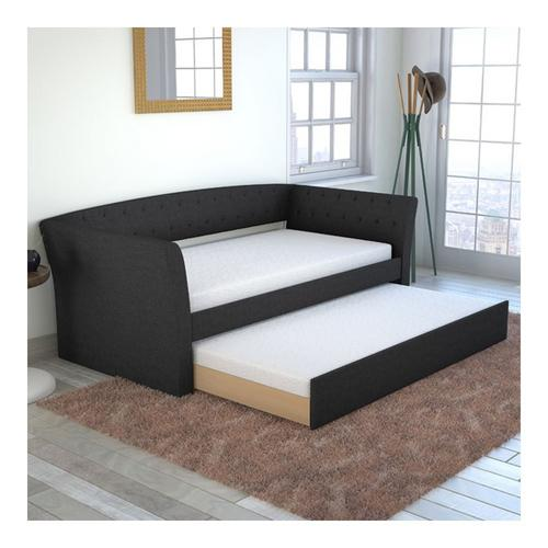 Wisteria Twin Daybed w/Trundle - Black
