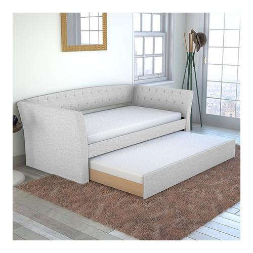 Wisteria Twin Daybed w/Trundle - White