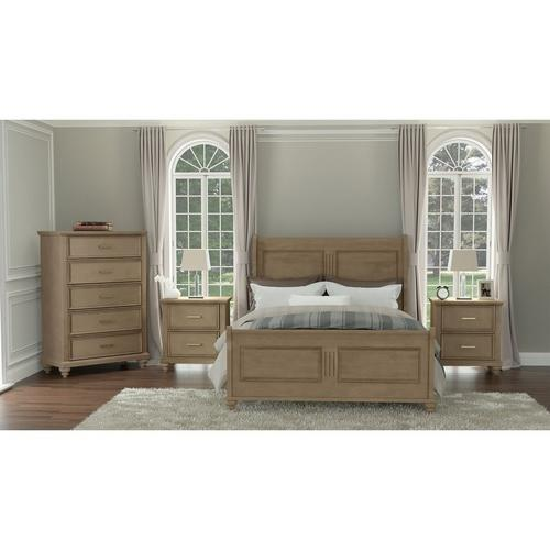 6-Piece Cameron King Bed with Chest & 2 Nightstands