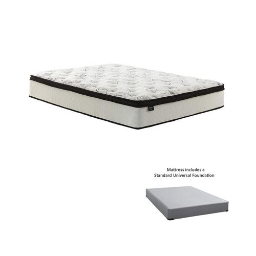 plush twin bed