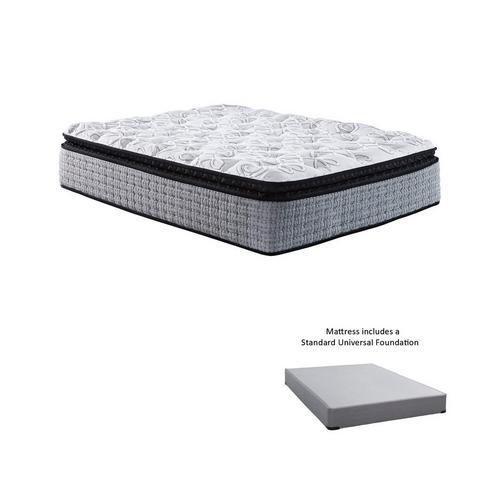 plush king bed