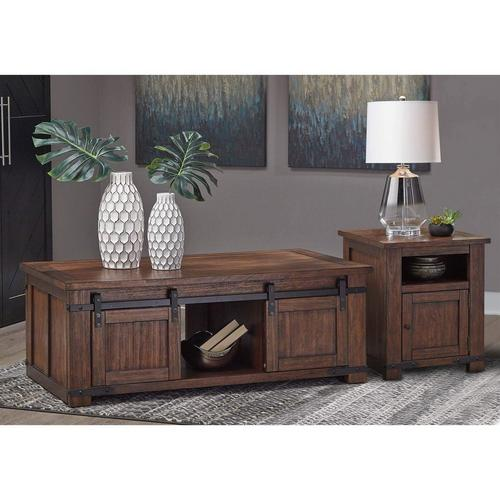 2-Piece Budmore Cocktail & End Table Set
