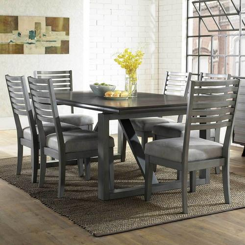 7-Piece Far Country Dining Set with 6 Chairs