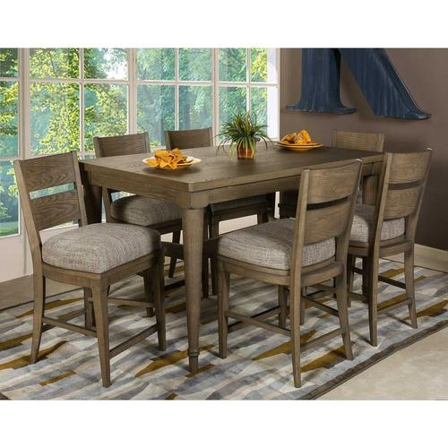 7-Piece Gent Counter Height Dining Set