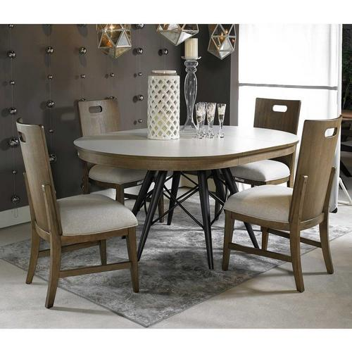 5-Piece Jorg Dining Set with 4 Chairs