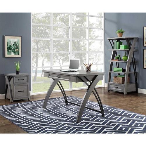 Axon Gray Desk Only
