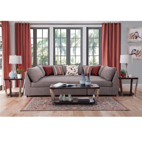 8-Piece Puzzle Chaise Sectional Sofa Living Room Collection