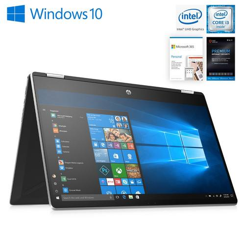 "15.6"" Convertible Laptop with Microsoft 365 Personal and Total Defense Internet Security"